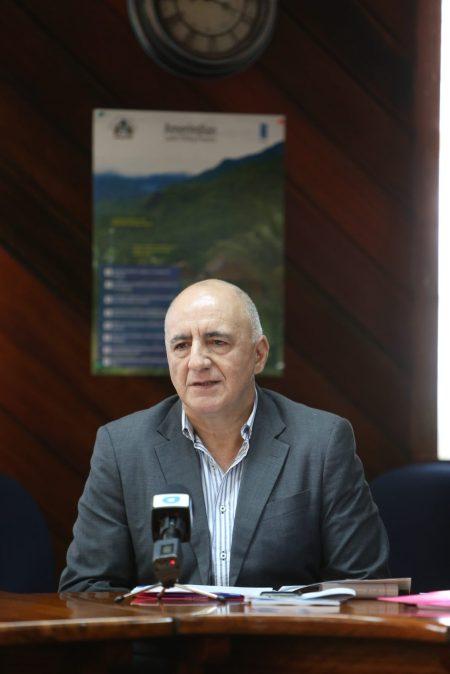 Resident Representative of UNDP, Roberto Galvez