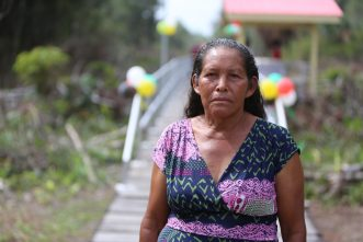 Eunis Thomas, a Wakapau resident for over 50 years