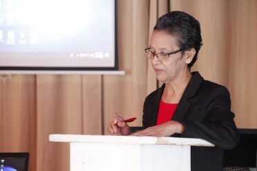 Assistant Chief Education Officer, Ingrid Trotman
