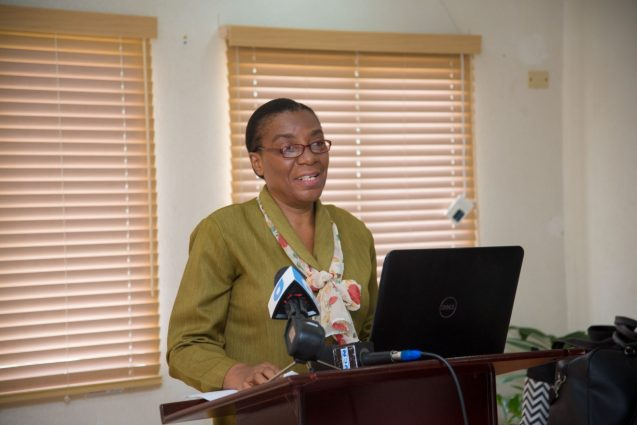 Technical advisor on Nursing to the Minister of Public Health, and Vice-Chairperson of the Guyana Nursing and Midwives Council, Dr. Mandy La Fleur