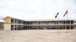 The completed Kato Secondary School