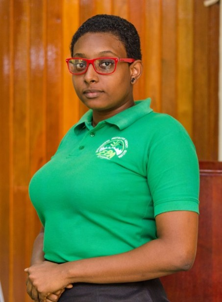 Environmental Officer in the Waste Management Programme, Jasmine Adams.