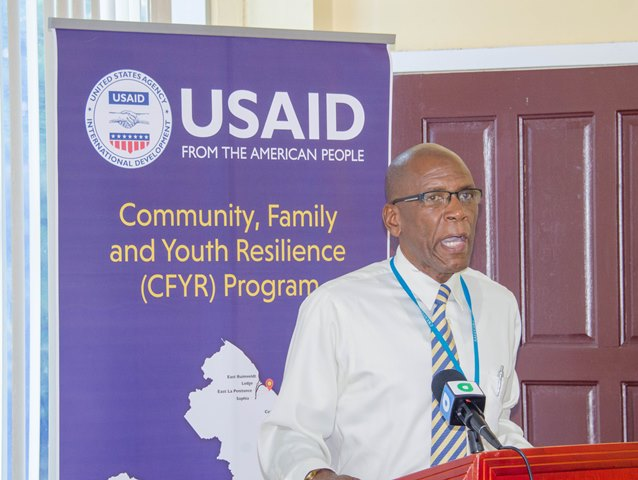 USAID Country Manager, Courtney Brown.