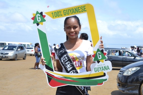Delegate of Miss Earth Guyana 2019- Selena Guyadeen.