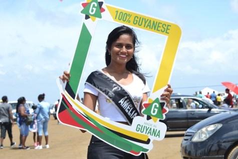 Delegate of Miss Earth Guyana 2019, Amelia Bakhsh.