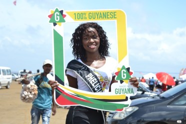 Delegate of Miss Earth Guyana 2019, Phelicia Adams.