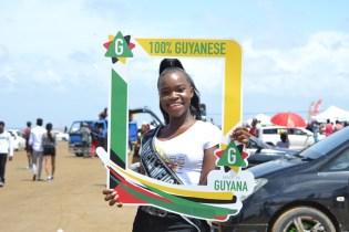 Delegate of Miss Earth Guyana 2019, Maricia Meusa.