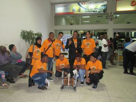 Flashback: The STEM Guyana team which represent Guyana at the First Global Challenge in Washington, D.C.