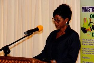 Principal Assistant Secretary of the Guyana Trades Union Congress, Eslyn Harris.