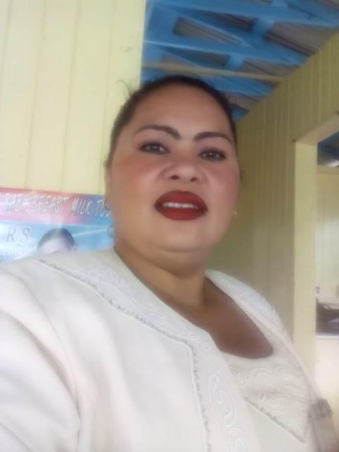 Community Worker for the Essequibo River Pretty Debidin.
