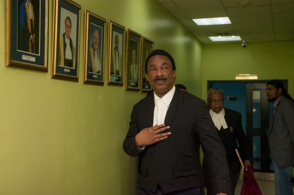 Attorney General (AG) and Minister of Legal Affairs, Basil Williams SC