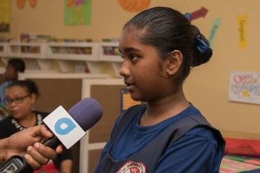 Deena Rampersaud, a student of St. Winefride.