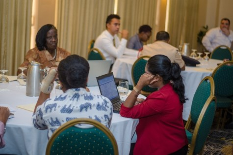 Participants at the Stakeholders Workshop on Disaster Risk Management Bill.