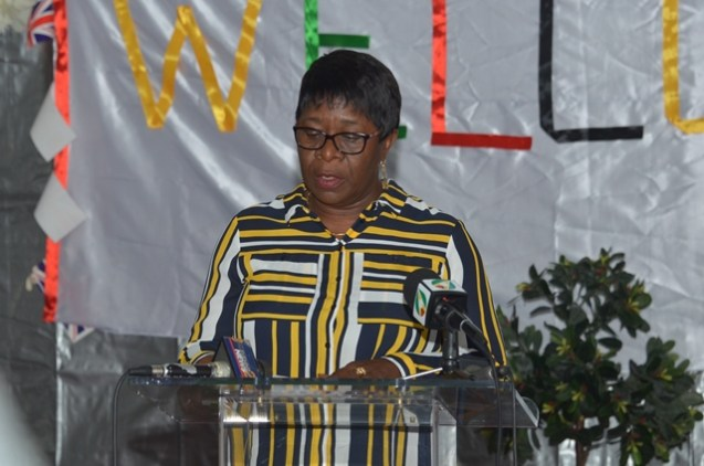 Director-General of the Maritime Administration Department within the Ministry of Public Infrastructure, Claudette Rogers.