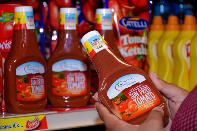 Pakaraima Flavours' Sun Dried Tomato Ketchup