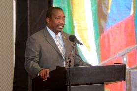 Jamaica's Minister of Transport and Mining, Robert Montague.