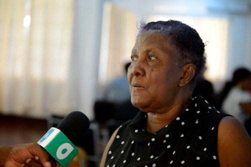 Member of Parliament, Barbara Pilgrim.