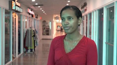 Sales Representative, Giftland Mall, Alicia Lallchan.