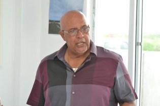 Managing-Director of GWI, Dr. Richard Van-West-Charles.