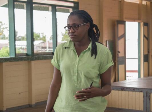 Minister of Public Service, Tabitha Sarabo-Halley