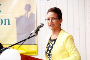 Deputy Chief Education Officer, Mrs. Ingrid Trotman (Ministry of Education photo)