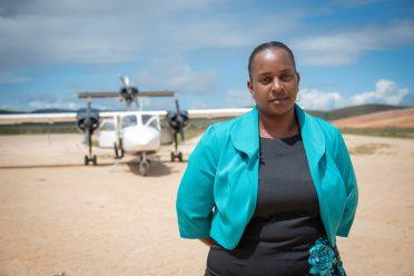 Tirselle John-McLean, the mother of the aspiring pilot