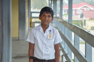 With 501 marks Kareem Baksh was awarded the St Joseph's High School, he will instead be attending the ARMS.