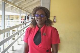 Regional Education Officer, Region 2, Nicola Matthews.