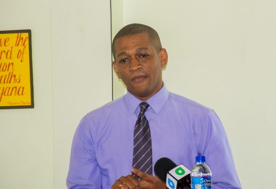 Director of the Department of Energy, Dr. Mark Bynoe