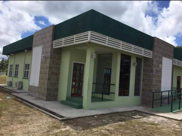 The new passport and immigration office in Retrieve, Linden
