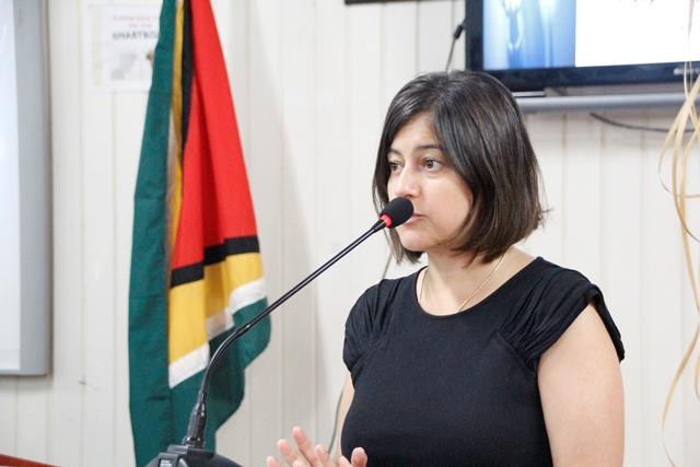 Profutoro Representative, Ms. Maria Lobo