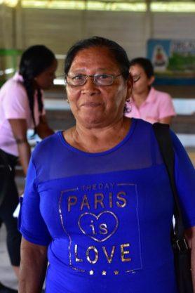 Orealla resident, Janice Herman.