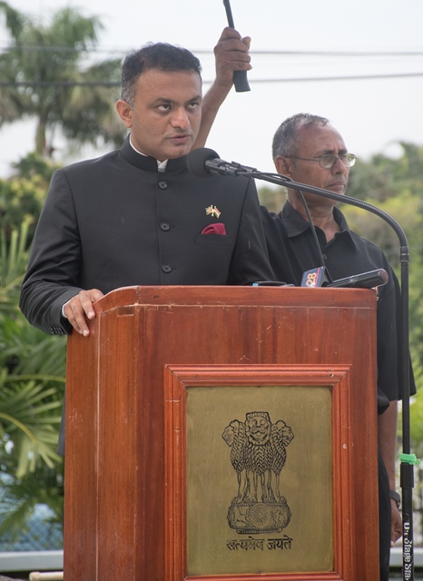 India High Commissioner to Guyana, H.E. Dr. K.J Srinivasa.