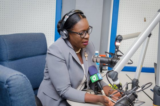Education Minister, Hon. Dr. Nicolette Henry during her appearance on the NCN radio programme Voice of Guyana