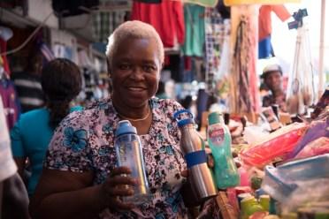 Desiree Alstrom, a vendor.
