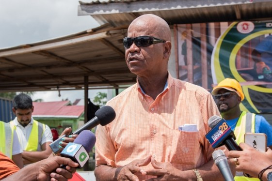Clayton Hinds, Councilor of Constituency 5, Liliendaal, East Coast of Demerara.
