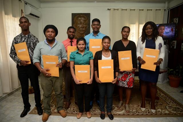 Medical scholarship awardees