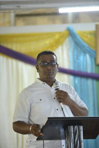 Regional Information Officer of Region 3, Ganesh Mahipaul.