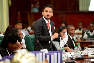 Youth Parliamentarian and Shadow Minister of Communities, Safraz Yacoob's is 'Best Speaker'.