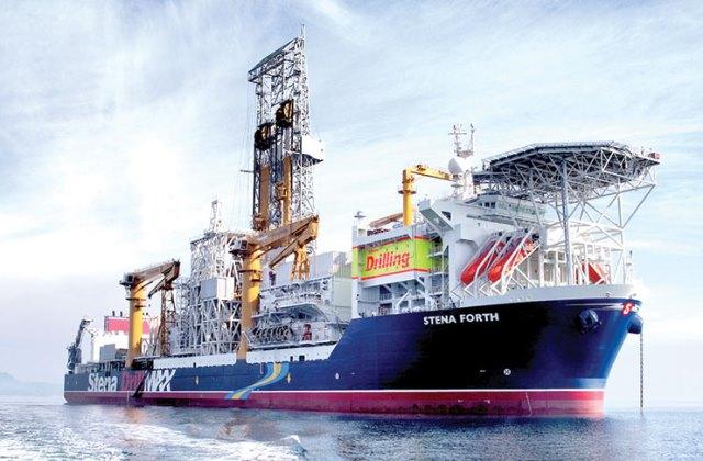 The Stena Forth Class 3 drillship