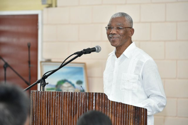 His Excellency President David Granger.