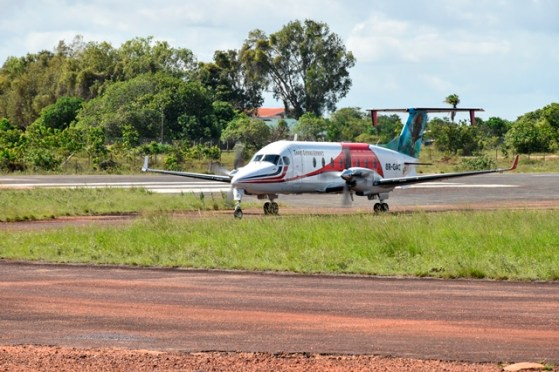 The Lethem Airport, Region 9.