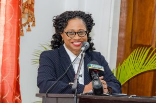 Chancellor of the Judiciary (ag), Justice Yonnette Cummings-Edwards.