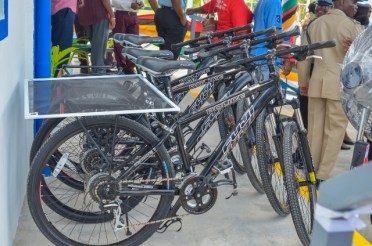 Bicycles that will assist with patrols.