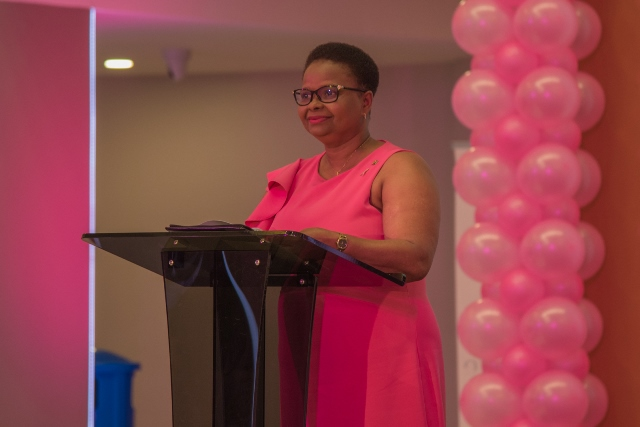 Minister of Health, Hon. Volda Lawrence.