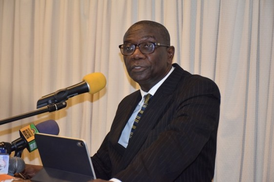 Chairman of the Guyana Power and Light's Board of Directors, Rawle Lucas.