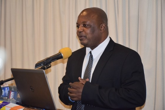 Chief Executive Officer of Guyana Power and Light, Albert Gordon.