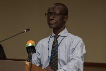 Representative of the Pan American Health Organisation/World Health Organisation (PAHO/WHO), Dr. William Adu-Krow.