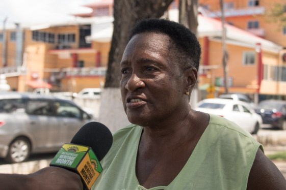 Yvonne Reynolds, a resident.