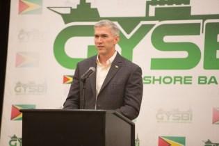 President of ExxonMobil Guyana, Rod Henson.